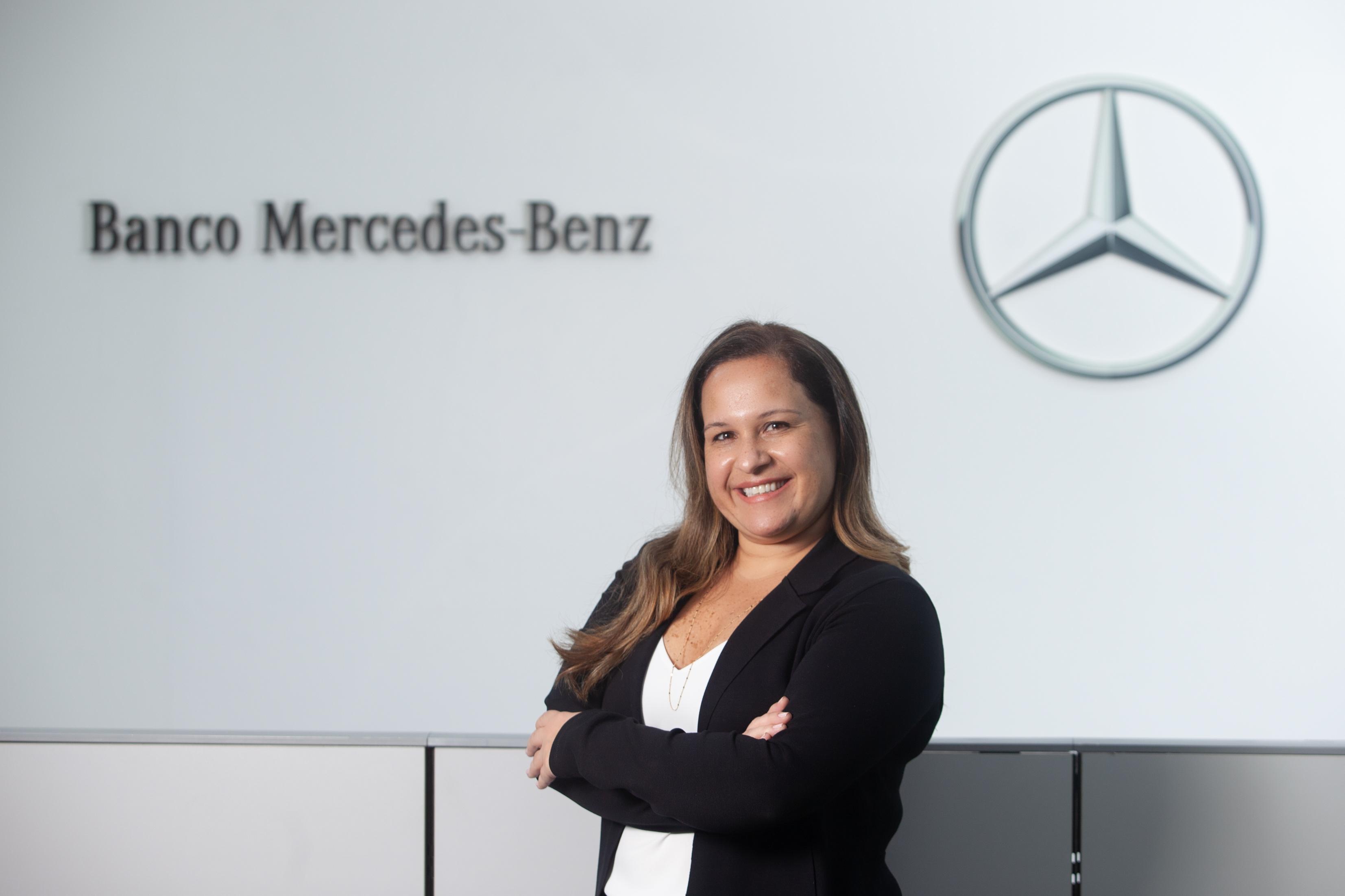 Raquel Assis, gerente de Marketing & Produtos do Banco Mercedes-Benz