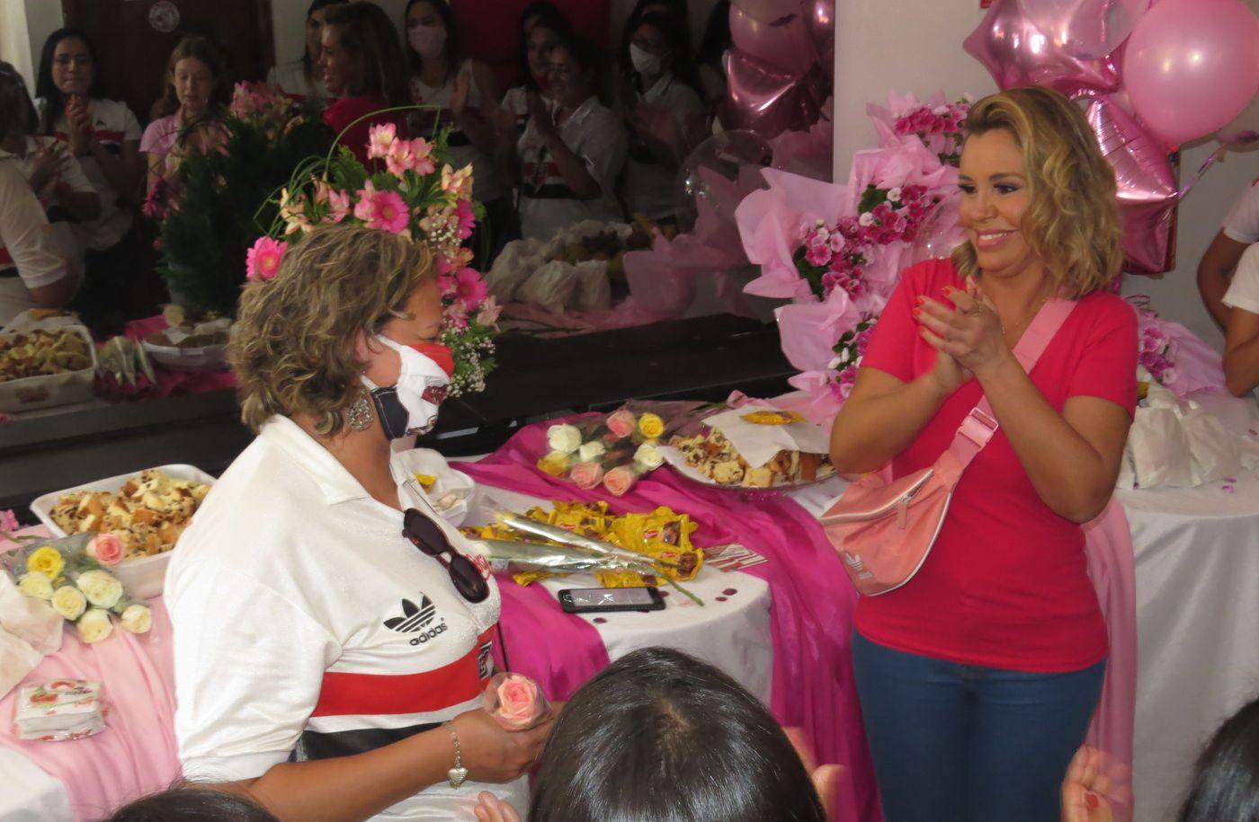 Professora Sandra Azevedo e Renata Banhara