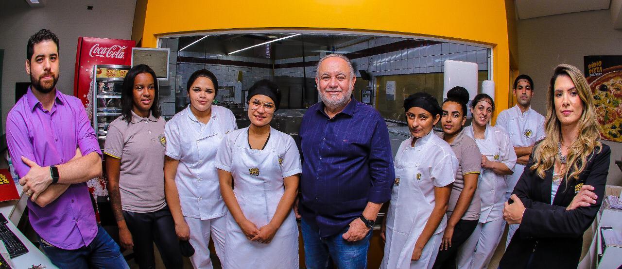 Equipe Dídio Pizzas - Foto: Thiago Duran