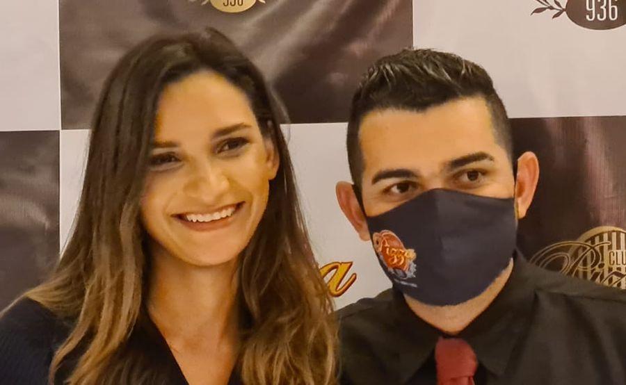 Luciana Felix e Walas - Foto Divulgação  @pcbeccbnews