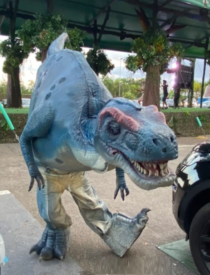 Netho Vidigal atuando em seu Dino
