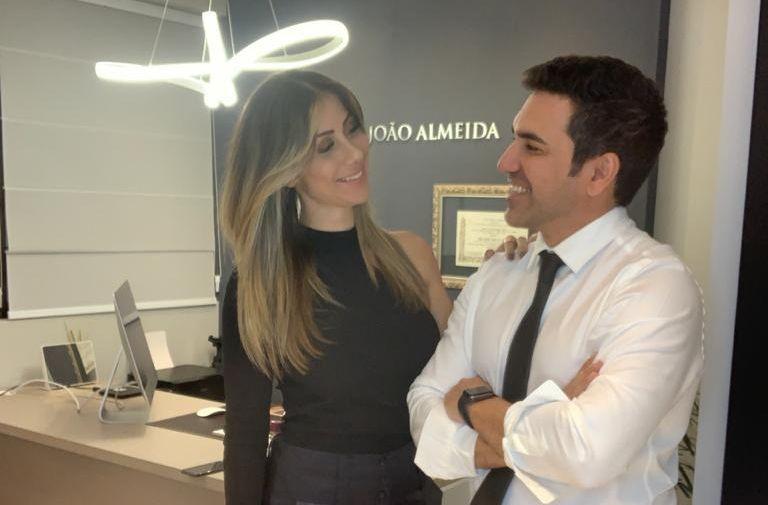Luana Monalisa e Dr. João Almeida - Fotos: Jorge Beirigo / Renato Cipriano - Divulgação