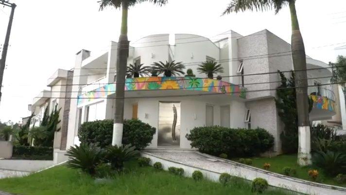Fachada da Casa de Frank Aguiar