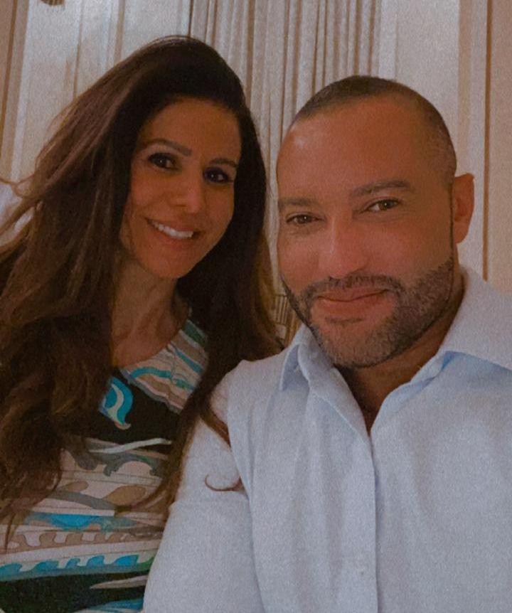 Simone Saad e Rafael Protein - Foto: Divulgação