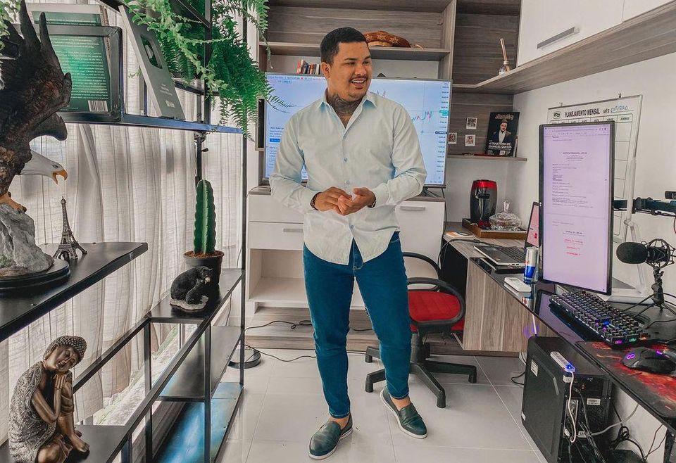 Emanuel Santos - Trader Cangaceiro - Foto: Acervo Pessoal / Divulgação