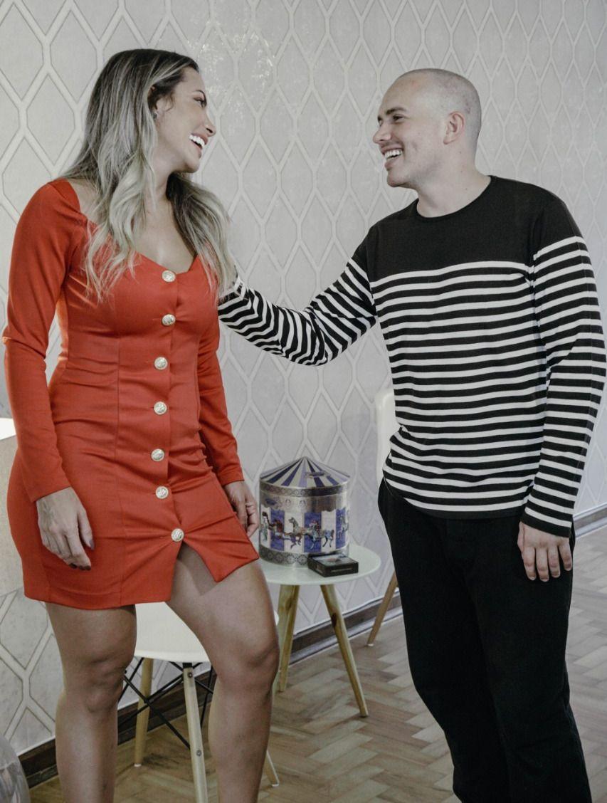 Carla Prata e Júnior Pacheco - Foto: Renato Cipriano / Divulgação