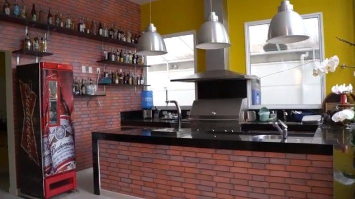 Casa Frank Aguiar - Espaço Gourmet