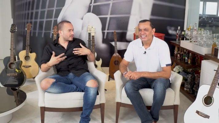Junior Pacheco e Frank Aguiar