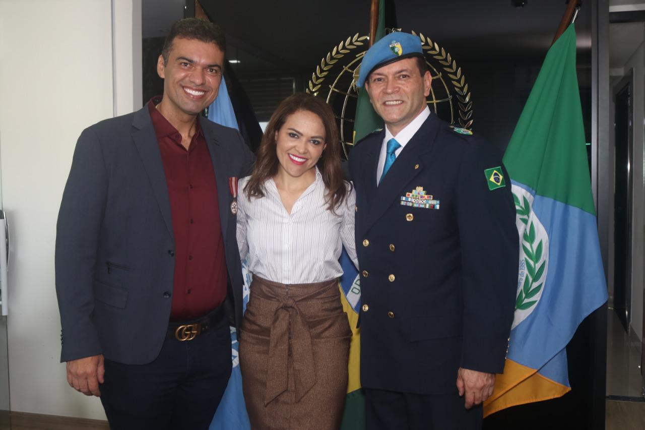 Martinelly Santos, Lorena Campos e o Sr César