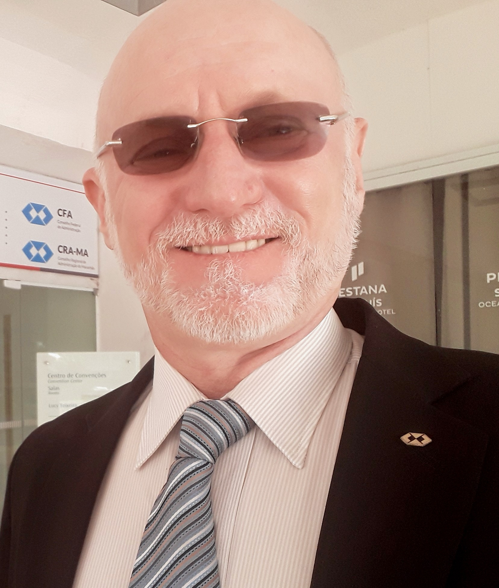 Presidente do CRA-RJ, Adm. Leocir Dal Pai